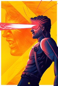 A commisioned piece for VUE Cinema and the Opening of X-Men Apocalypse.The art is to be used as limited signed prints as well as marketing and in select cinemas Marvel Comic Universe, Marvel Comics Art, Comics Universe, Marvel Heroes, Comic Book Characters, Marvel Characters, Comic Character, Character Ideas, Character Design