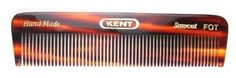 """Kent Hand-Made 113mm All Fine Pocket Comb, 4 1/2"""" x 1 1/4"""" - FOT (6-Pack) -- Read more reviews of the product by visiting the link on the image."""