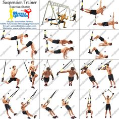 TRX Bodyweight Exercises Body weight exercises