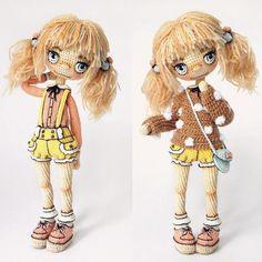 Amigurumi doll by Yulia Baranova | VK
