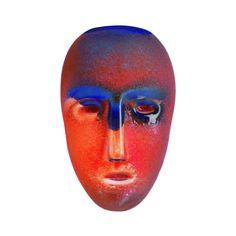 Kosta Boda Brains, Cesare by Bertil Vallien Fused Glass, Stained Glass, Cast Glass, Kosta Boda, Retro Futuristic, Glass Ceramic, Ceramic Artists, Glass Design, Art Decor