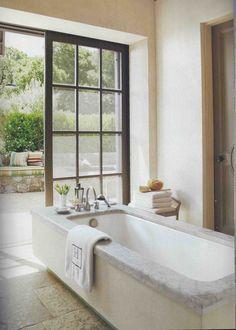 Discover contemporary luxury bathroom design ideas for your Bathroom Design Luxury, Bathroom Interior, Mini Piscina, Interior And Exterior, Interior Design, Interior Doors, Beautiful Bathrooms, Ideal Bathrooms, Modern Bathrooms