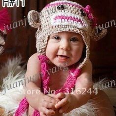 Sock monkey hat. Just ordered this hat with matching monkey slippers!