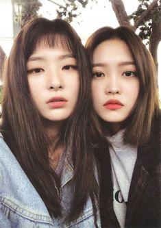 seulgi and yeri from red velvet. Red Velvet イェリ, Red Velvet Seulgi, Kpop Girl Groups, Korean Girl Groups, Kpop Girls, K Pop, Irene, My Girl, Cool Girl
