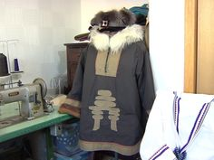 Wilman works in sealskin and fabrics, and says modernizing her parkas is what makes them sell.
