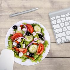 Salad Mouse Pad, Trainer Mouse Pad, Clean Eating Mouse Pad, Restaurant Mouse Pad, Chef's Mouse Pad (0059)