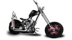 Orange County Choppers - #OCC - Deadliest Catch Bike