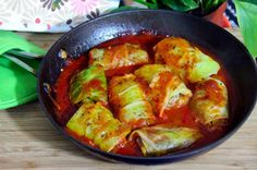 Mushroom-Stuffed Cabbage Rolls I might add ground turkey or even soy crumbles to make it more filling