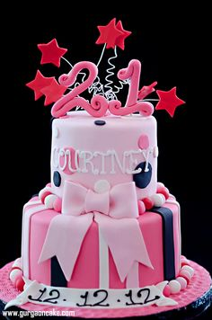 11 Birthday Cakes Party Photo - Happy Birthday intended for Birthday Cake Designs - Cake Design Ideas 21st Birthday Cake For Girls, 21st Bday Ideas, Birthday Cake Pictures, 21st Birthday Cakes, 21 Birthday, Birthday Stuff, Birthday Images, Birthday Ideas, Happy Birthday