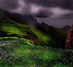 Stormy, The Quiraing, Isle of Skye, Scotland
