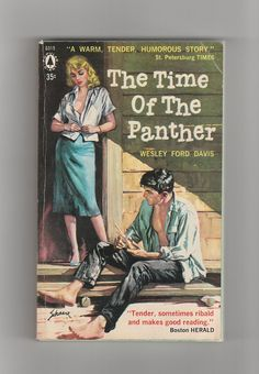 1950s Sexy Pulp Fiction Vintage Paperback by AnemoneReadsVintage