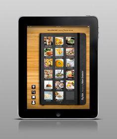Moleskine Passions iPad App Design Concept by Adam Skalecki
