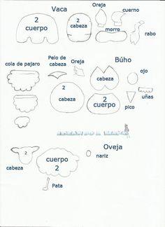 patrones Como hacer animales