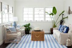 casual beach-y room