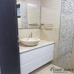 Mobilier baie rezistent la apa Vanity, Bathroom, Vanity Area, Bath Room, Lowboy, Dressing Tables, Bathrooms, Single Vanities, Bath