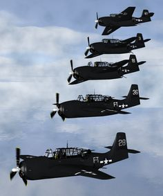 A squadron of five planes disappears over the Bermuda Triangle