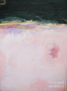 Anahi Decanio Mixed Media - Blush Seduction Abstract Art Print by Anahi DeCanio