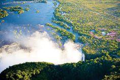 Simbabwe Rundreisen - Jetzt Urlaub buchen! |Tai Pan Nationalparks, Niagara Falls, River, Nature, Outdoor, Yellow Fever, Zimbabwe, Rainy Season, Waterfall
