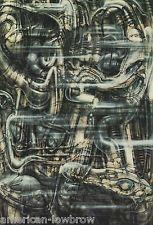 HR Giger Art Poster Print Alien Baphomet Biomechanical Landscape Robot