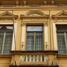 House from 1903 at Quitanda street - Sao Paulo, Brazil