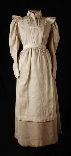 Maid's uniform, 1890-1905.