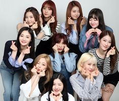 Pristin admires Girls' Generation, Twice | Koogle TV