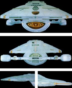 U.S.S. Voyager - Various Angles