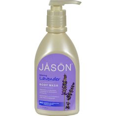 Jason Body Wash Pure Natural Calming Lavender - 30 fl oz - Jason Body Wash Pure Natural Calming Lavender Description: Soothes with Natural Lavender and Marigold Extracts Nourishes with Vitamin E and Pro-Vitamin B5 No: Parabens, Sodium Lauryl/Laureth Sulfates or Phthalates New Look / Same Great Formula Calming LavenderThis gentle wash cleanses with natural botanical surfactants and safely nourishes with Vitamin E and Pro-Vitamin B5. Our natural blend of calming Lavender and Marigold…