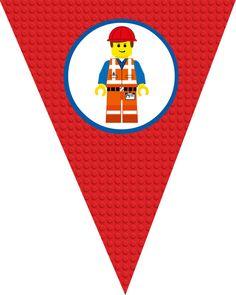 ON SALE Banner Lego Movie Birthday Banner Printable by KayTDesign, $4.00