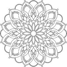 73 Best Mandala Coloring Pages images | Mandala coloring pages ...