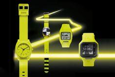 "Nixon 2012 Fall/Winter ""Neon Yellow"" Collection"