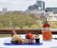 Summer Not Afternoon Tea at OXO Tower Restaurant, Bar & Brasserie
