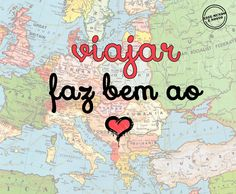 Viajar faz bem ao coração. #viajar #coracao