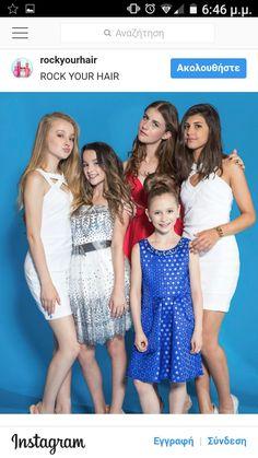 They all look so cute Julianna Grace Leblanc, Hayley Leblanc, Annie Grace, Annie Lablanc, Hottest Female Celebrities, Celebs, Famous Gymnasts, Dress Break, Coral Girls