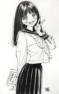 Image Manga Anime, Art Manga, Manga Artist, Anime Art Girl, Girls Manga, Manga Cute, Anime Sketch, Art Sketchbook, Aesthetic Anime