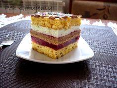 "Ciasto ""Zośka"" Vanilla Cake, Tiramisu, Sweet Tooth, Cooking, Ethnic Recipes, Food, Cakes, Sweet Dreams, Polish"