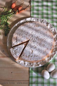 Torta di carote senza glutine e lattosio (farina di mandorle)                     #recipe #juliesoissons