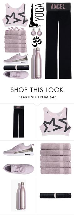 """""""YOGA in VOGUE"""" by style-vh ❤ liked on Polyvore featuring Victoria's Secret, Juvia, NIKE, Christy and No Ka'Oi"""