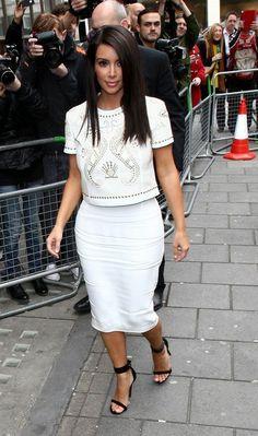 Kim Kardashian - Kim and Kanye Out Together in London 2