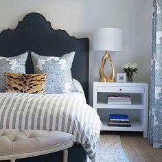 Navy bedroom decor, small bedroom furniture, gray bedroom, bedroom lamps, b Navy Bedroom Decor, Small Bedroom Furniture, Bedroom Colors, Home Bedroom, Gray Bedroom, Furniture Layout, Furniture Websites, Bedroom Lamps, Trendy Bedroom