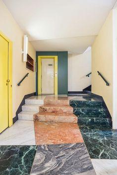 Milanese entryway by Gio Ponti