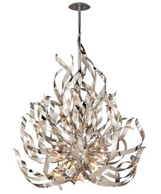 MUST HAVE!!!!!! Corbett Lighting 154-412 Graffiti 44 Inch Large Foyer Chandelier (no large, medium..)
