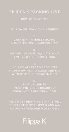 6f12343b1c2 A Mindful Holiday  Win Your Packing List - Filippa K