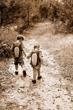 Lets go for a walk, little brother.
