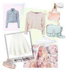 """Spring look 2"" by alice-dumora on Polyvore featuring mode, Polaroid, J Brand, Converse, MICHAEL Michael Kors, Guerlain et Allurez"