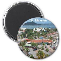 St. Maarten - Marigot Bay Refrigerator Magnet sold in Spain! Thank you.