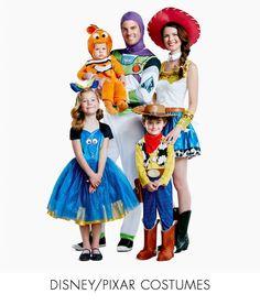 The Halloween Store Candy Costumes, Easy Halloween Costumes, Scary Halloween, Spirit Halloween Coupon, Pixar Costume, Disney Family Costumes, Love Holidays, Disney Pixar Cars, Baby Shark