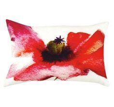 Poppy 35x55cm Filled Cushion Multi | Manchester Warehouse Leaf Tattoos, Warehouse, Manchester, Poppy, Cushions, Throw Pillows, Toss Pillows, Pillows, Poppies