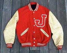 sweet 1950's letter jacket