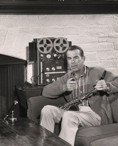 Actor Fred MAcMurray appeared in Califone / Rheem ads in the 1950's and 1960's